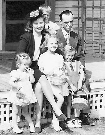 Young Family ca 1948