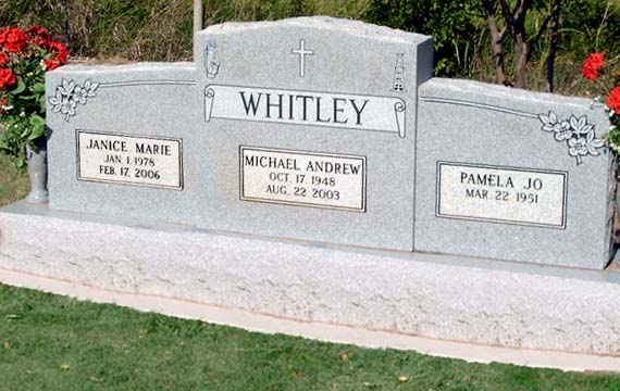 WHITLEY_Mike_1948-2003 and Jan_1978_2006